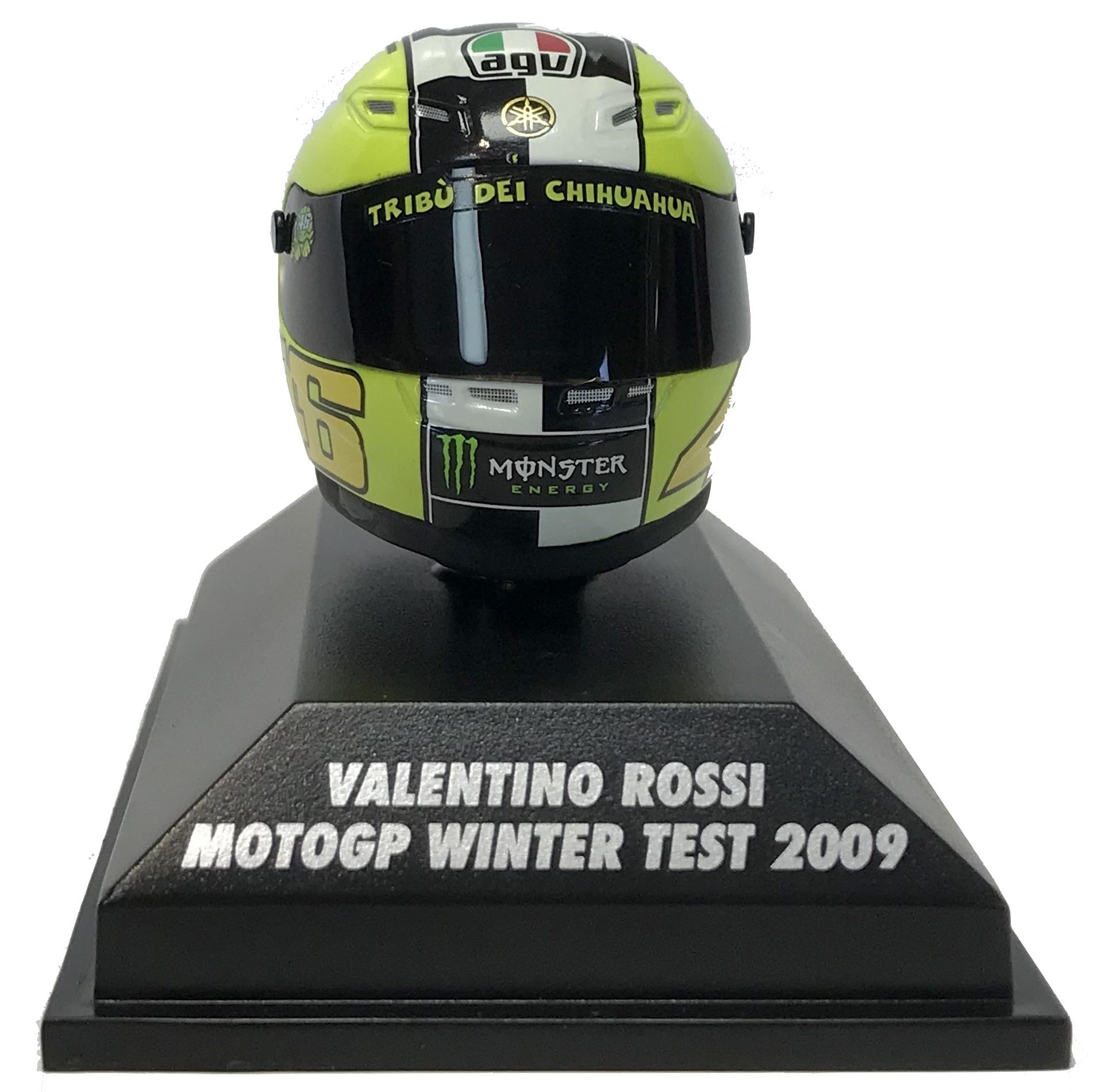 Valentino Moto Gp Winter Test 2009 Helmet 1/8