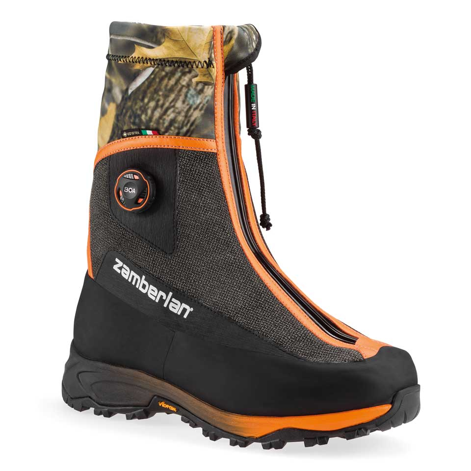 3031 POLAR HUNTER GTX® RR WL BOA®    -   Men's Insulated Hunting  Boots   -   Black/Orange