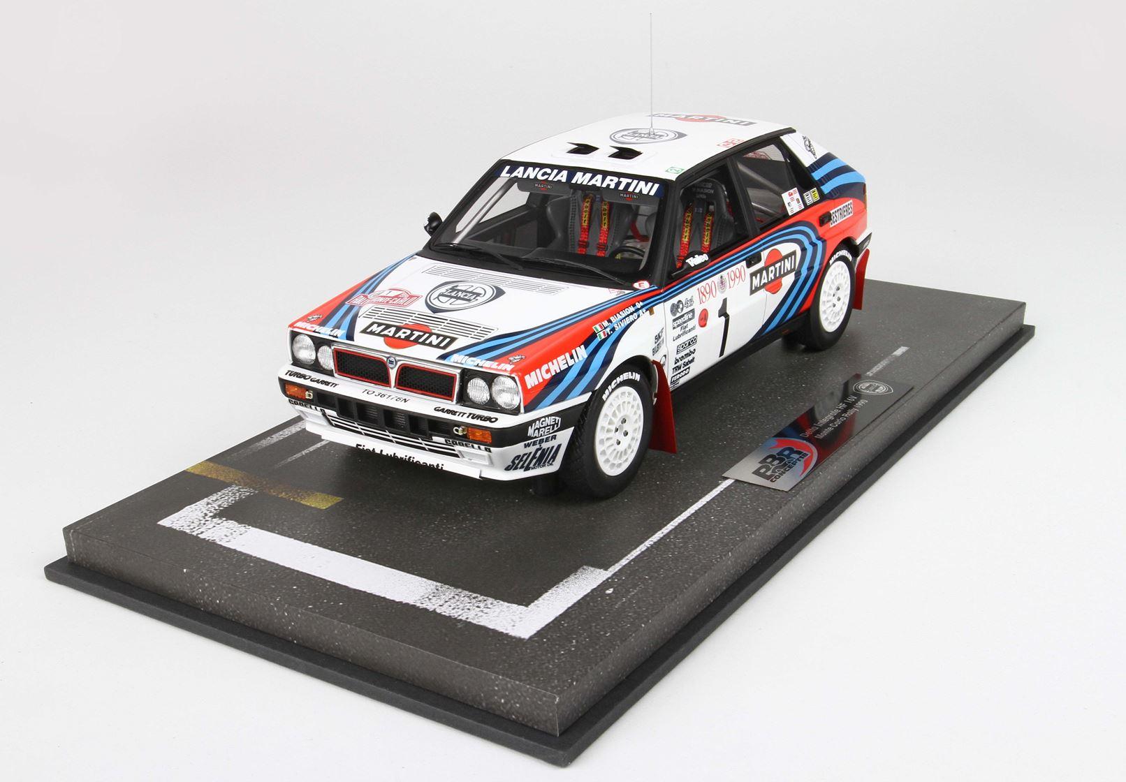 Lancia Delta Integrale HF 16V Monte Carlo Rally 1990 1/18