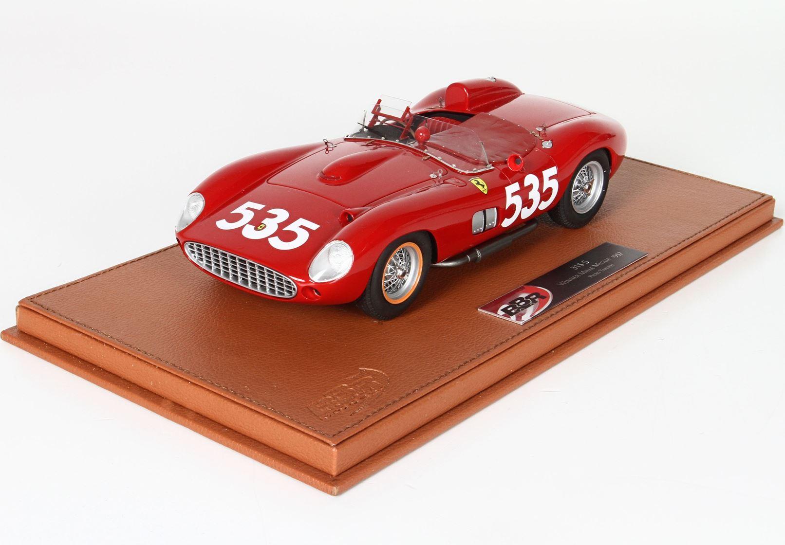 Ferrari 315 S Winner Mille Miglia 1957 Taruffi SN 068 Ltd 200 Pieces 1/18