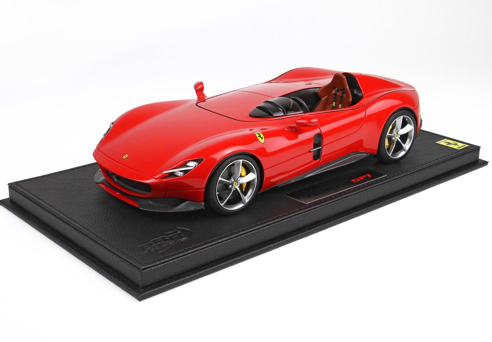 Ferrari Monza SP1 2018 Rosso Corsa 322 48 Pieces 1/18