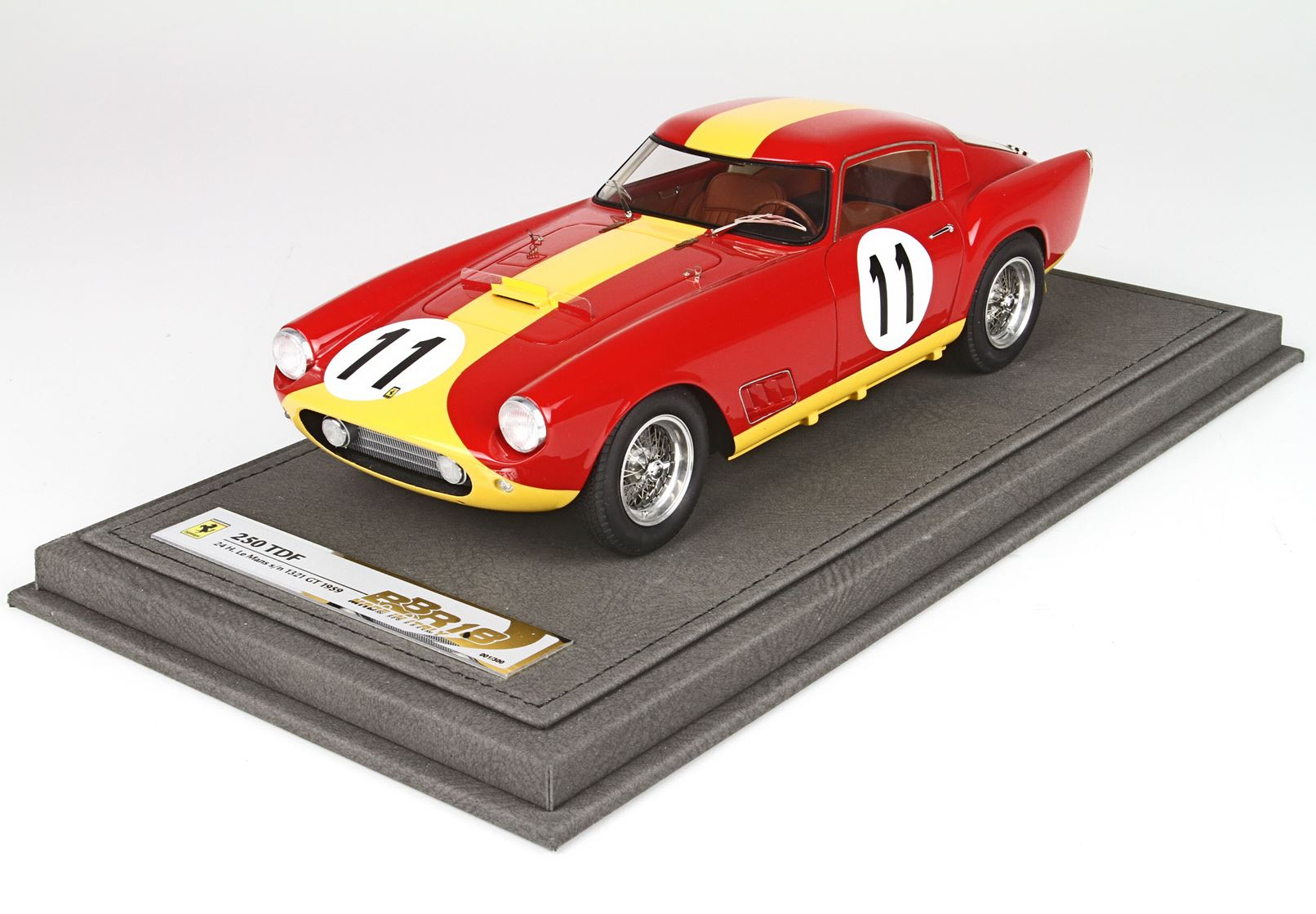 Ferrari 250 TDF 24H Le Mans 1959 S/N 1321 GT Car #11 Ltd 300 Pcs With Case 1/18