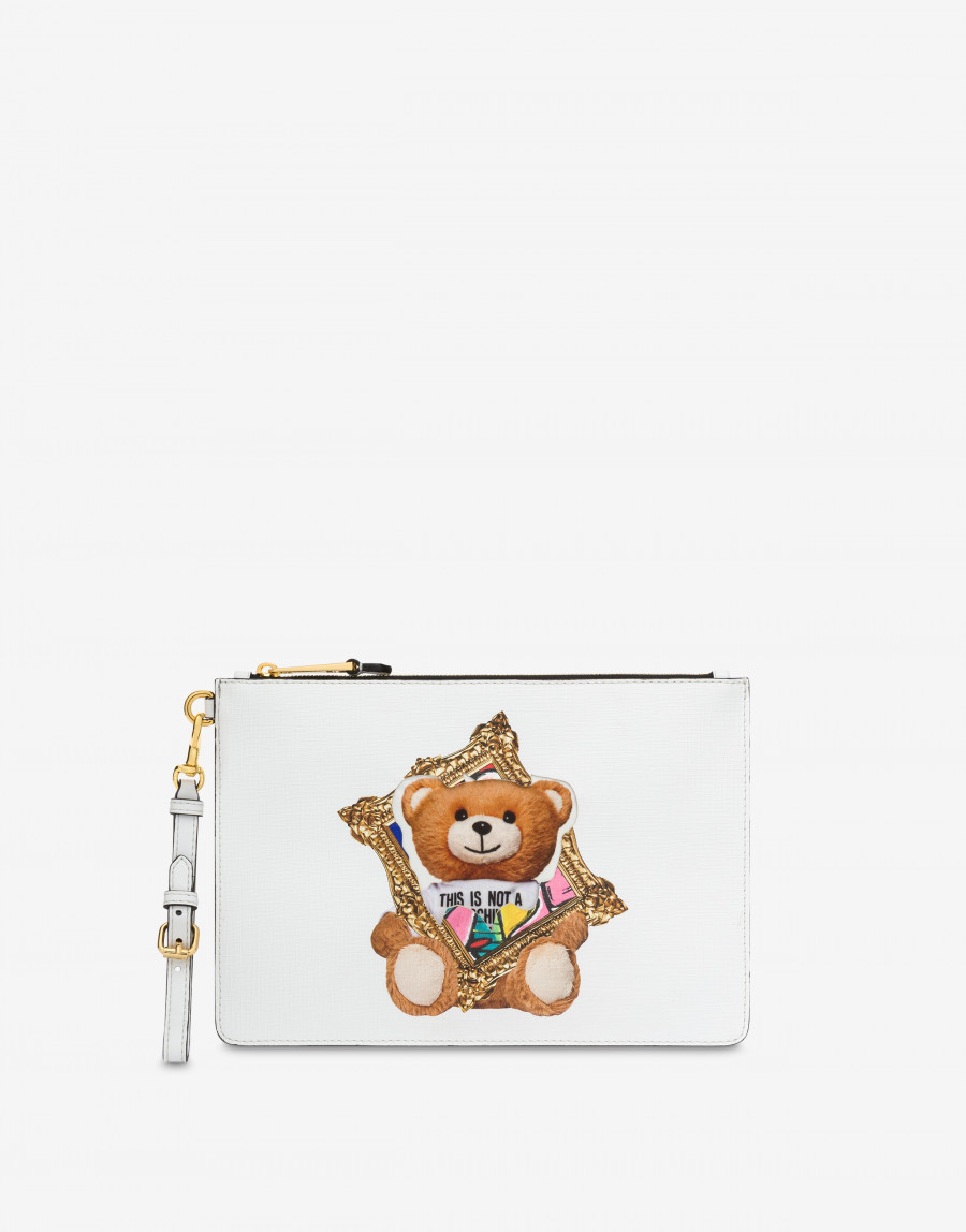 Clutch Frame Teddy Bear Moschino