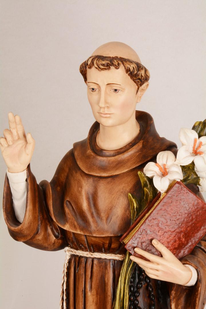 Statua S. Antonio h 80 PASQPA915
