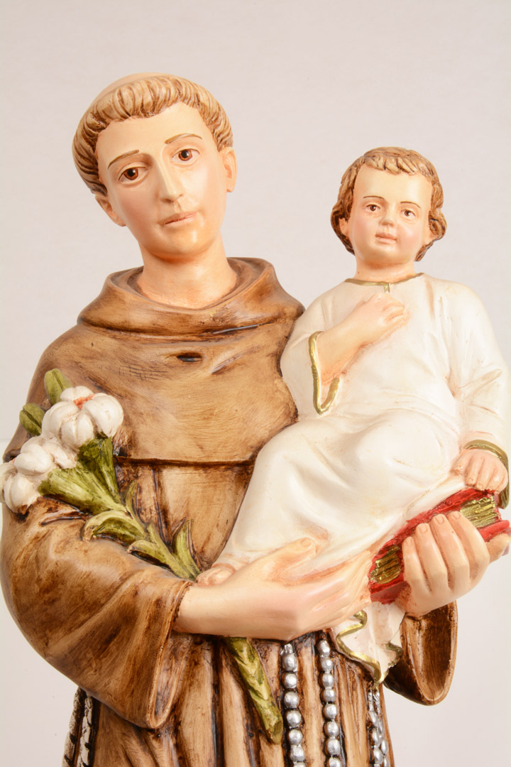 Statua S. Antonio h 60 PASQPA604
