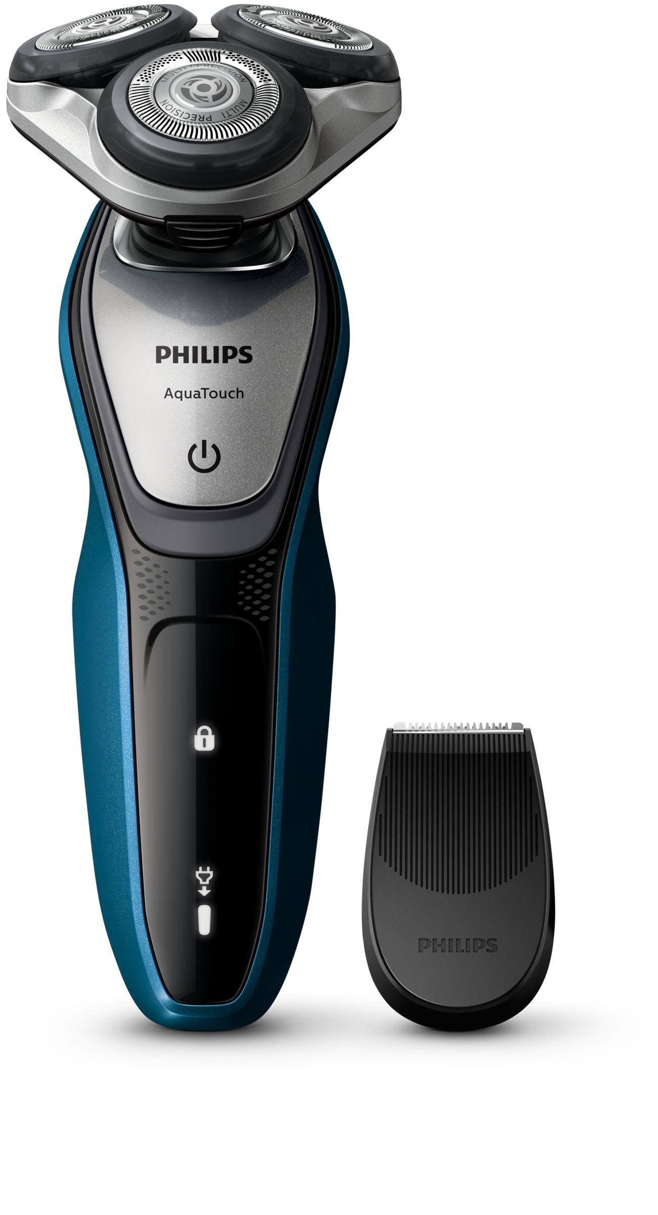 Philips AquaTouch Rasoio elettrico Wet & Dry