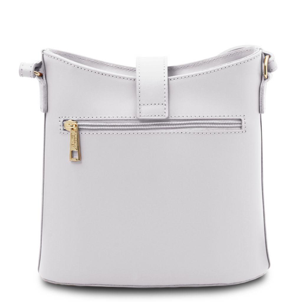 Tuscany Leather TL141901 Teti - Borsa a tracolla in pelle Bianco