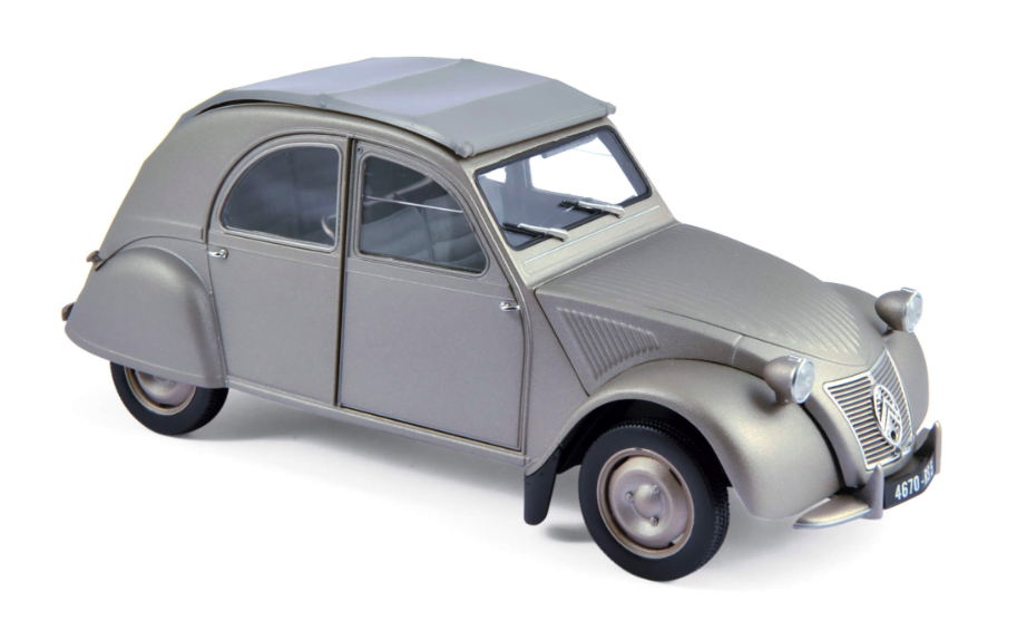 Citroën 2CV A 1950 Grey 1/18