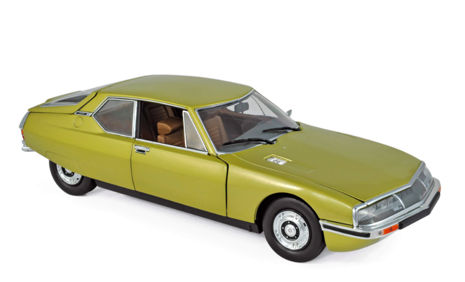 Citroën SM 1971 Golden Leaf 1/18
