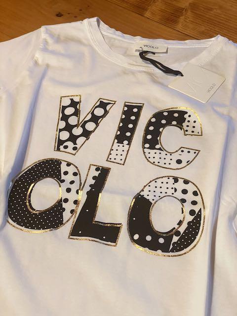 Tshirt Vicolo con stampa Vicolo Pois