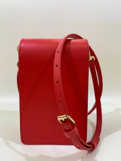 SHOPPING ON LINE PINKO SMART BAG IN PELLE LOVE SMART SIMPLY FL COLORI ROSSO E CUOIO  NEW COLLECTION WOMEN'S SPRING SUMMER 2020