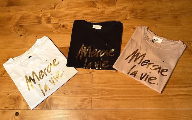 T-shirt Vicolo stampa Mercie la Vie
