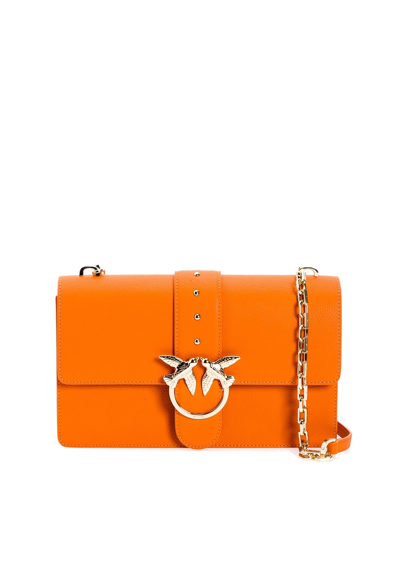 SHOPPING ON LINE PINKO LOVE BAG SIMPLY IN PELLE BOTTALATA NEW COLLECTION WOMEN'S SPRING SUMMER 2020