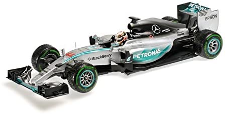 Mercedes AMG Petronas F1 Team Lewis Hamilton Winner USA GP 2015 1/18