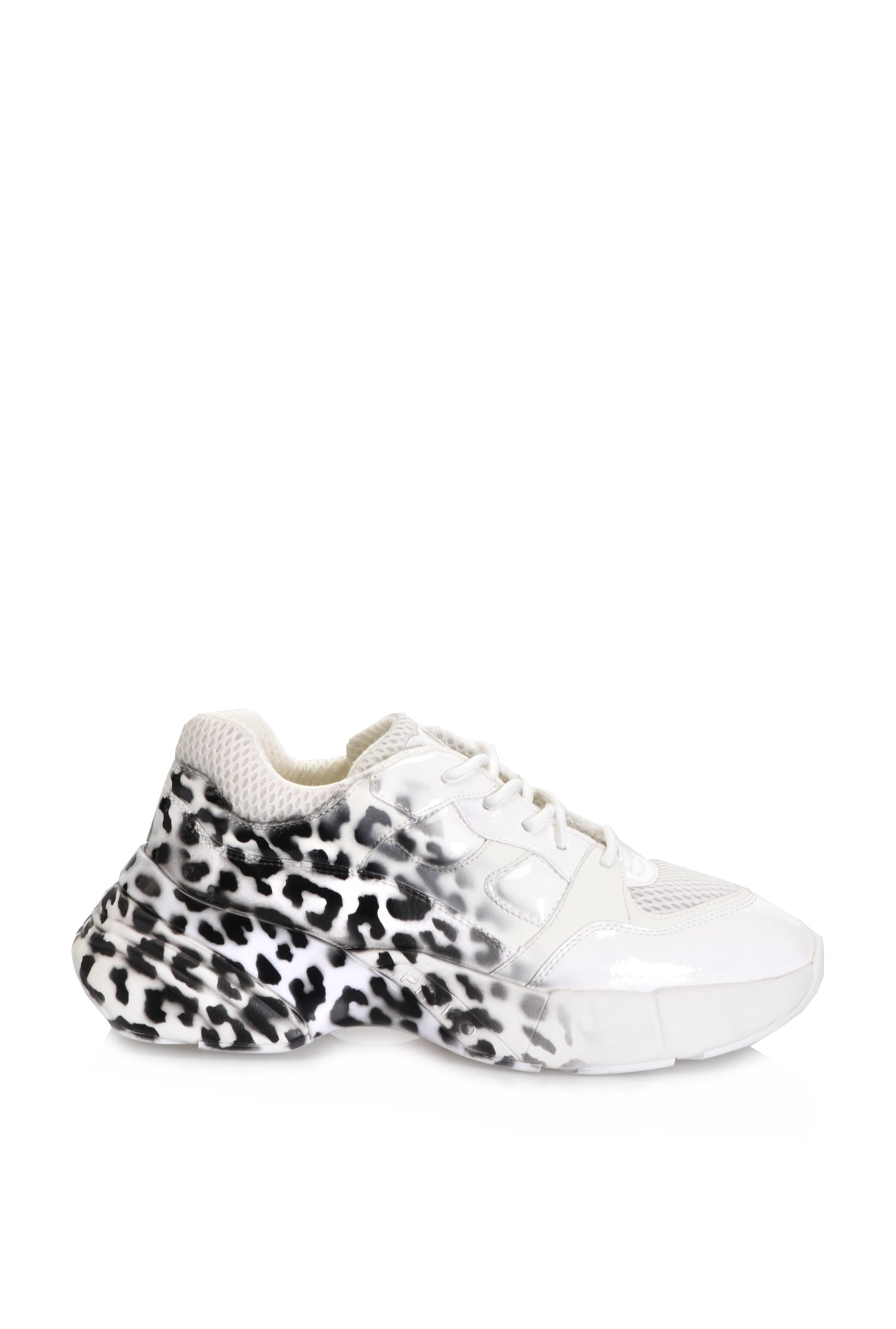 SHOPPING ON LINE PINKO SNEAKERS STAMPA ANIMALIER SFUMATO NEW COLLECTION WOMEN'S SPRING SUMMER 2020