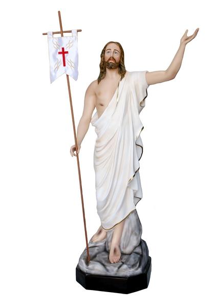 Gesù Risorto in vetroresina cm. 165