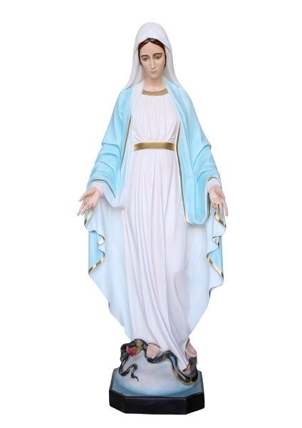 Madonna Miracolosa in vetroresina cm. 120