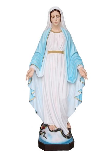 Madonna Miracolosa in vetroresina cm. 160