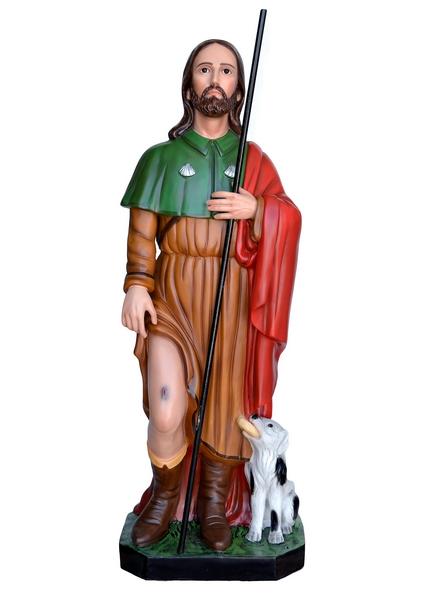 S. Rocco in vetroresina cm. 120