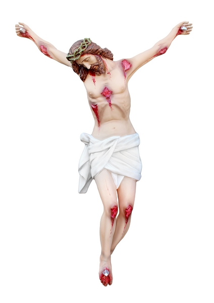 Corpo di Cristo in vetroresina cm. 165