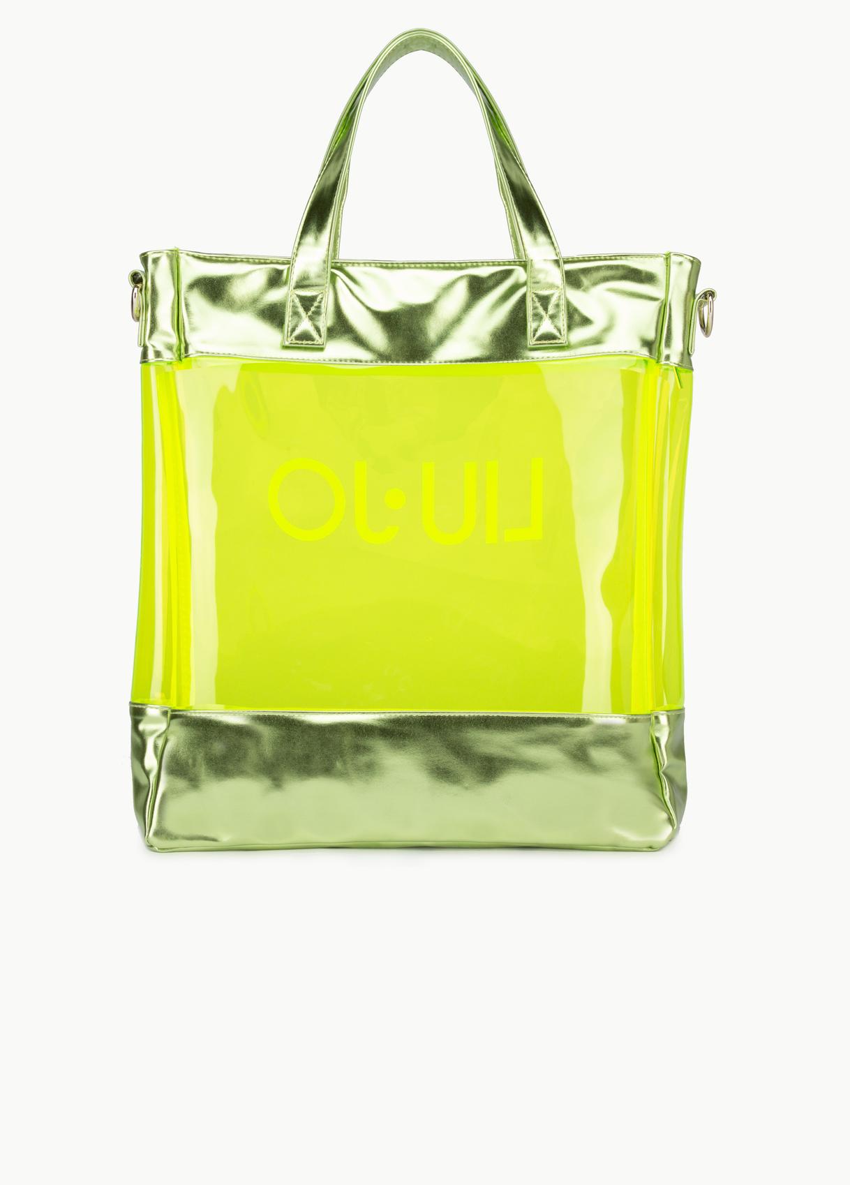 Shopping bag pvc germoglio - LIU JO