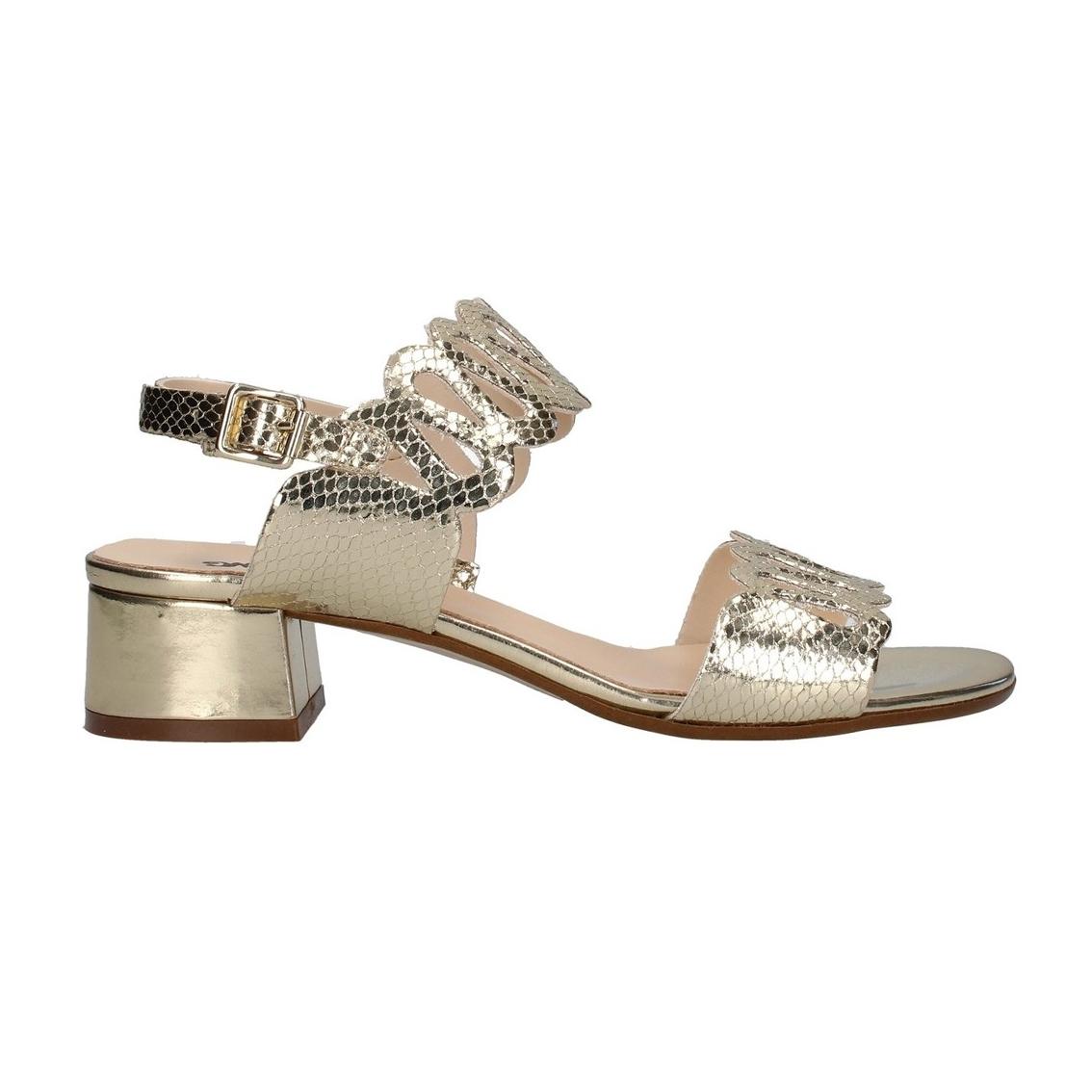 Sandalo platino Melluso