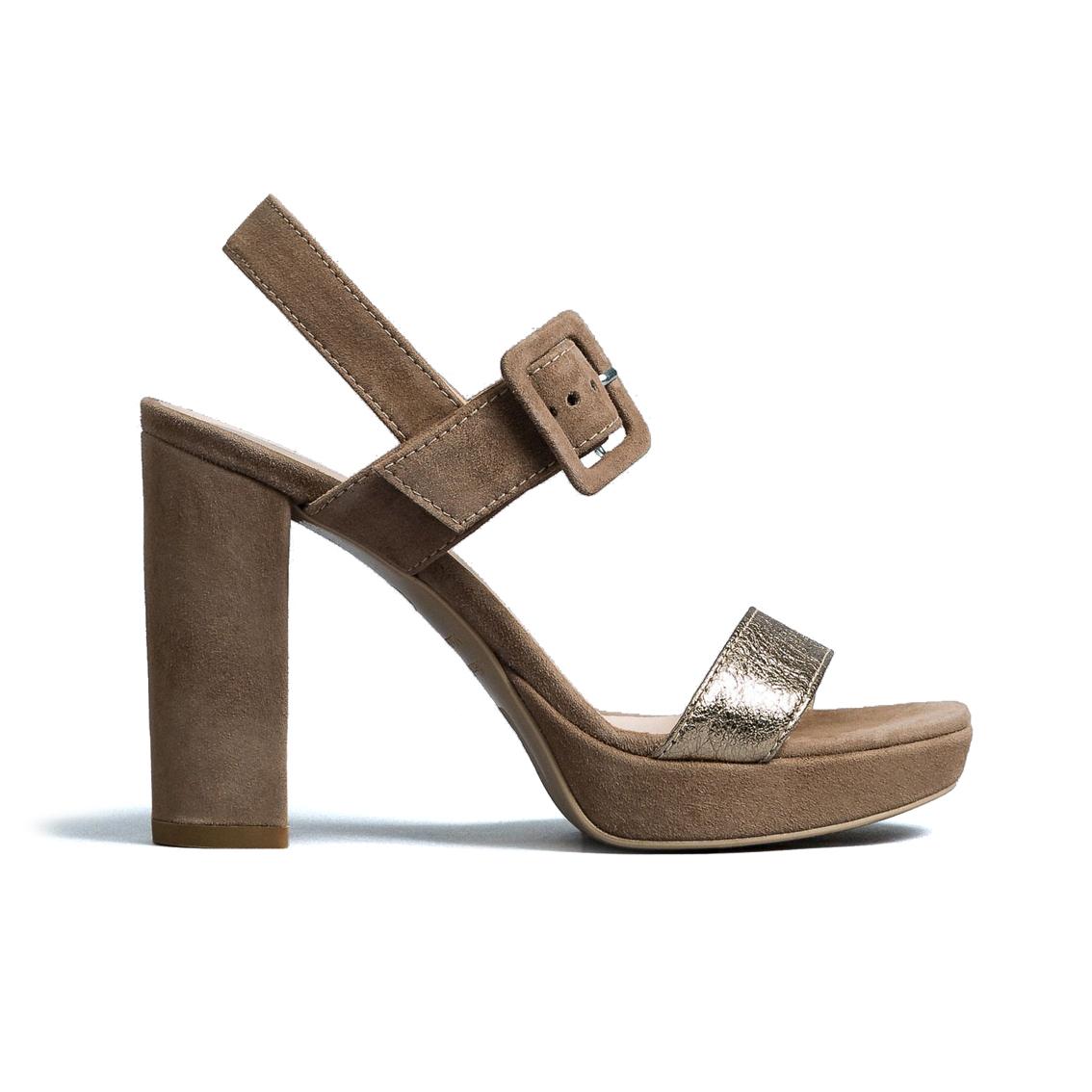 Sandalo taupe Nero Giardini