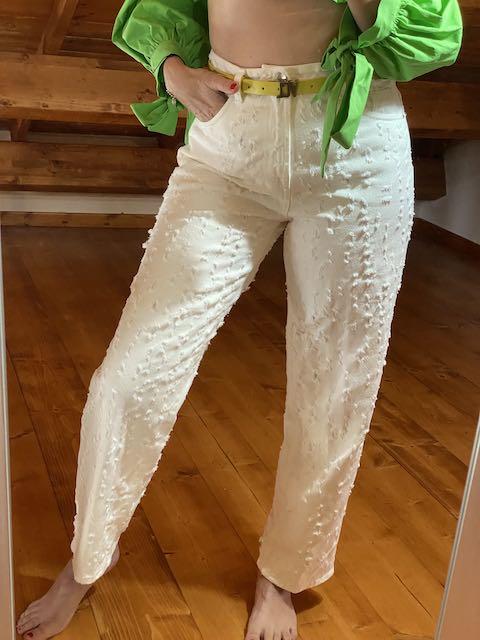 Jeans con multi strappi Vicolo