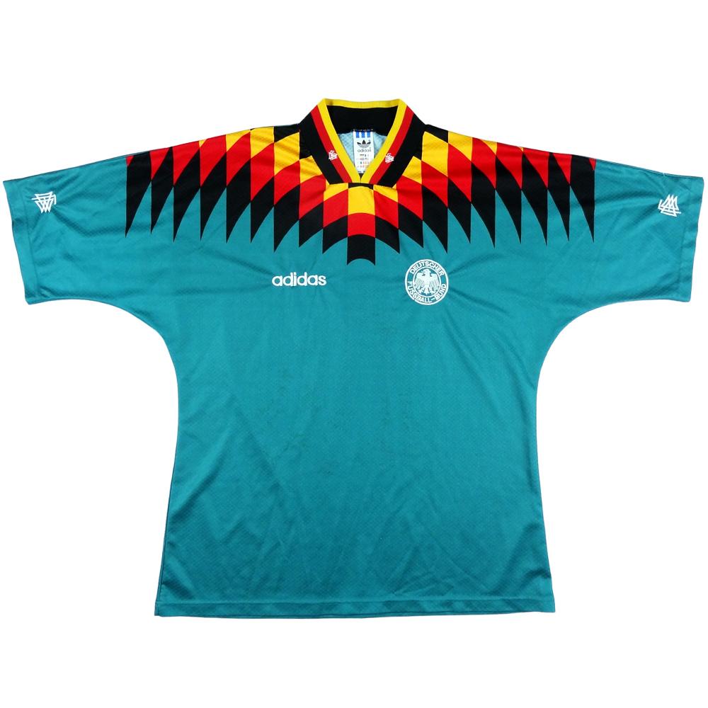 1995 Germania Maglia Away #22 Match Worn  L