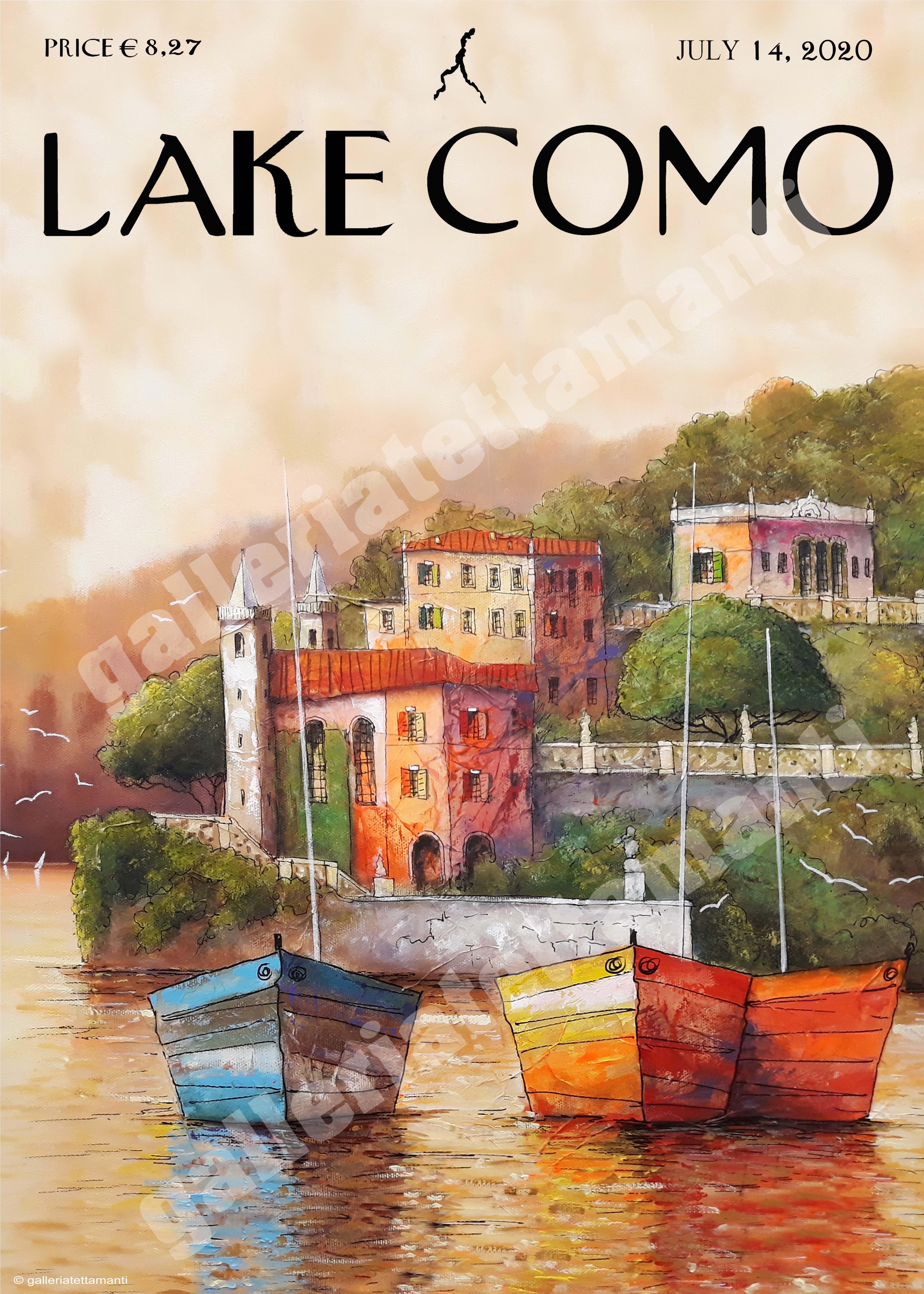 Lake Como 1 - Stampa su tela