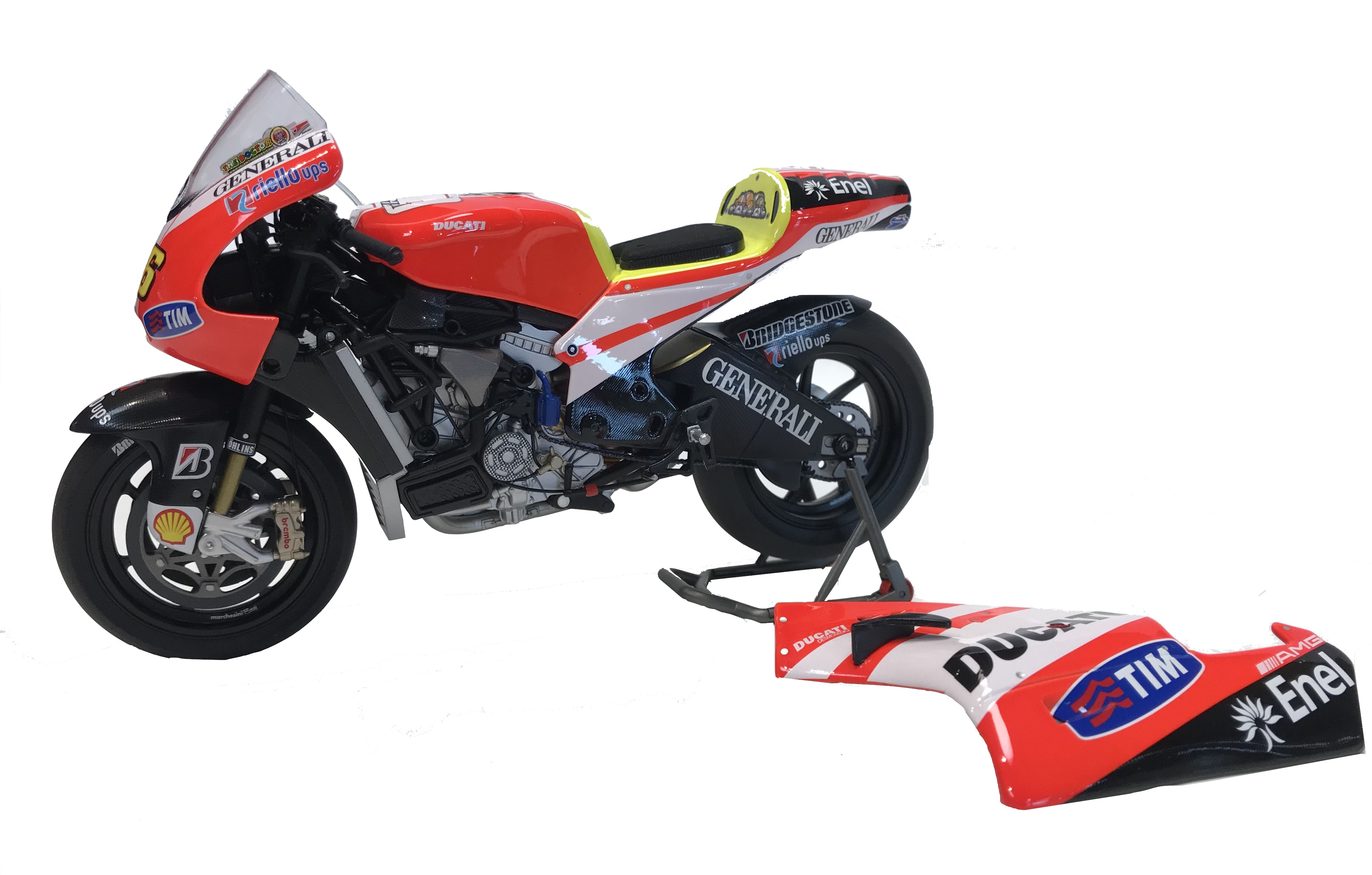 Ducati Desmosedici GP11 Unveiling 2011 Valentino Rossi 1/12