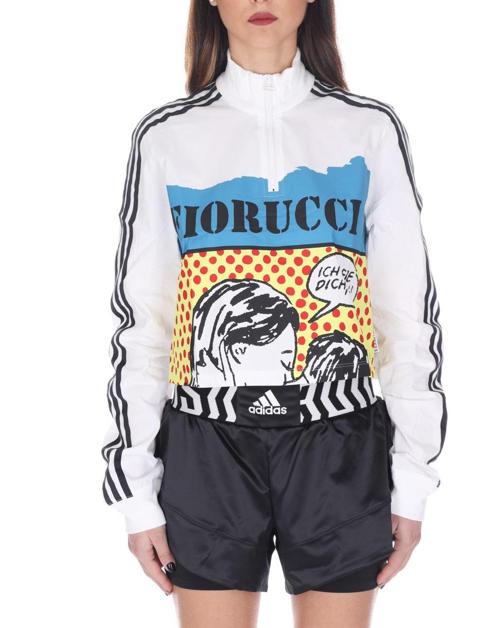 T-shirt Graphic Adidas FL4154 WHITE -19
