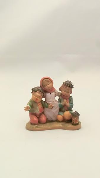 Bambini in preghiera cm 12
