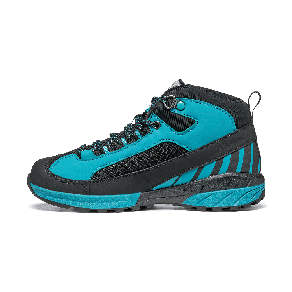 MESCALITO MID KID GTX  -   Technical approach, excursions on wet terrain   -   Black-Turquoise