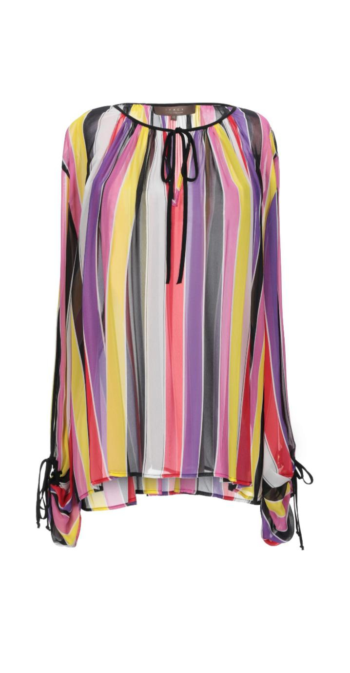Blusa a righe multicolor - SPACE SIMONA CORSELLINI