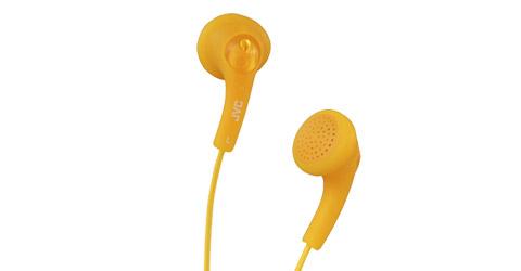 JVC HA-F150-D-E cuffia e auricolare Cuffie Arancione