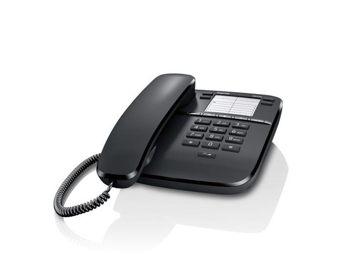 Gigaset DA310 Telefono analogico Nero