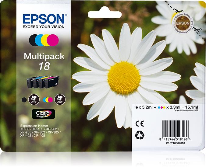 Epson Daisy Multipack t18