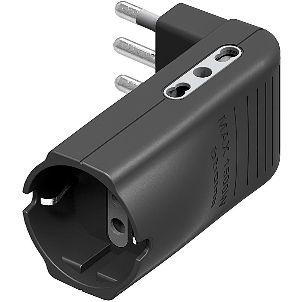 bticino S3616GE adattatore per presa di corrente Tipo L (IT) Bianco