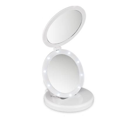 Macom ECLIPSE 212 specchietto per trucco Bianco