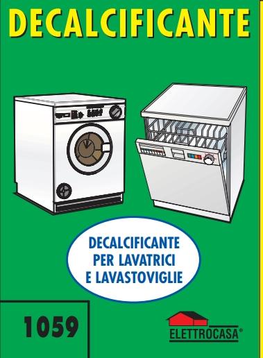 Elettrocasa Decalcificante per Lavatrice e Lavastoviglie AS31