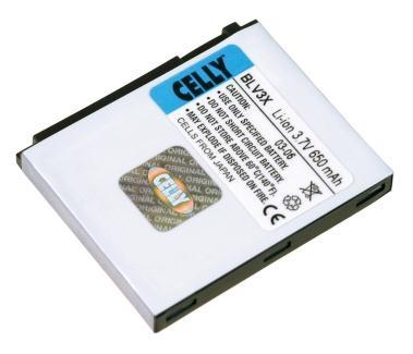 Celly BLI9100 Ioni di litio 3.7V batteria ricaricabile