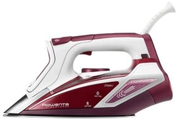 Rowenta Steamforce DW9230 Ferro a vapore Acciaio inossidabile Rosso, Bianco 2750 W