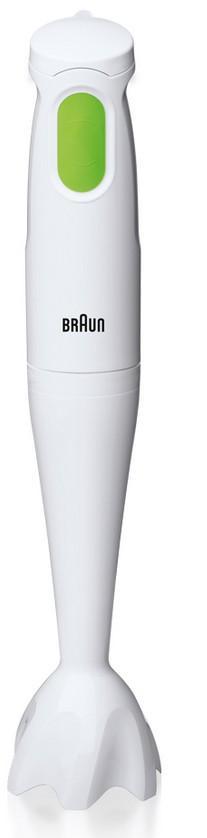 Braun Multiquick 1 MQ 100 Frullatore ad immersione Verde, Bianco 450 W