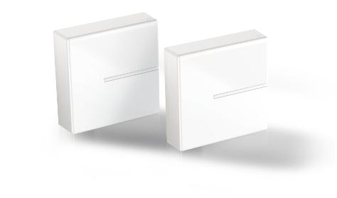 Meliconi 480525 BA organizer per cavi Scatola portacavi Parete Bianco 2 pezzo(i)