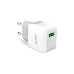 Celly TCUSBTURBO Interno Bianco caricabatterie per cellulari e PDA