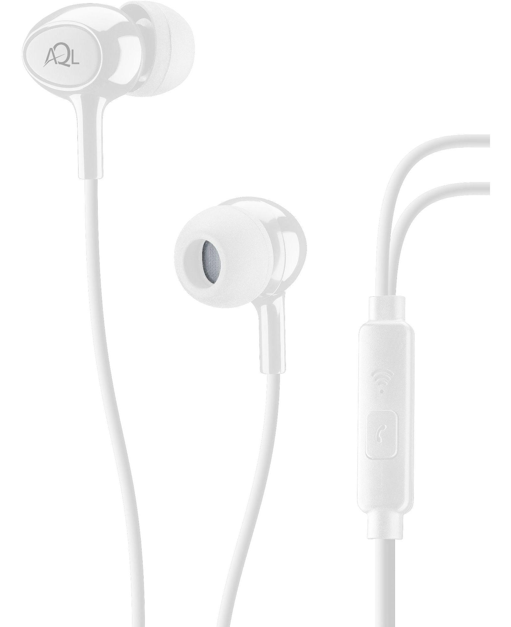 Cellularline Acoustic - Universale Auricolari pump bass in-ear Bianco