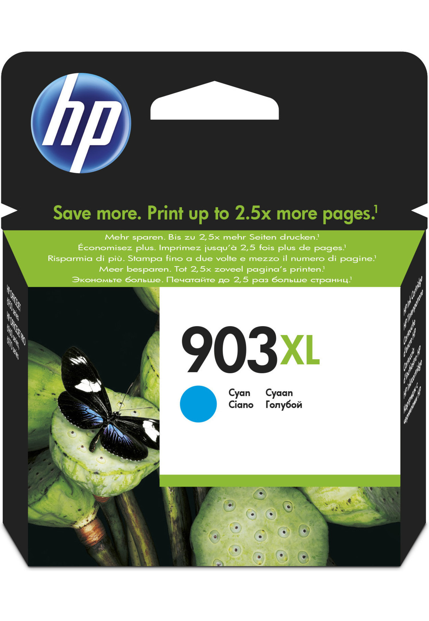 HP 903XL Originale Ciano
