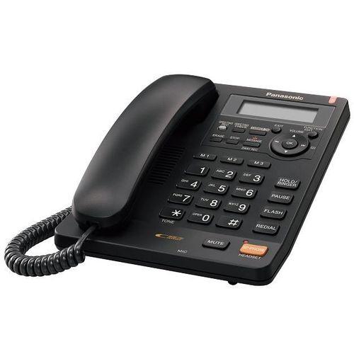 Panasonic KX-TS620EXB telefono Nero Identificatore di chiamata