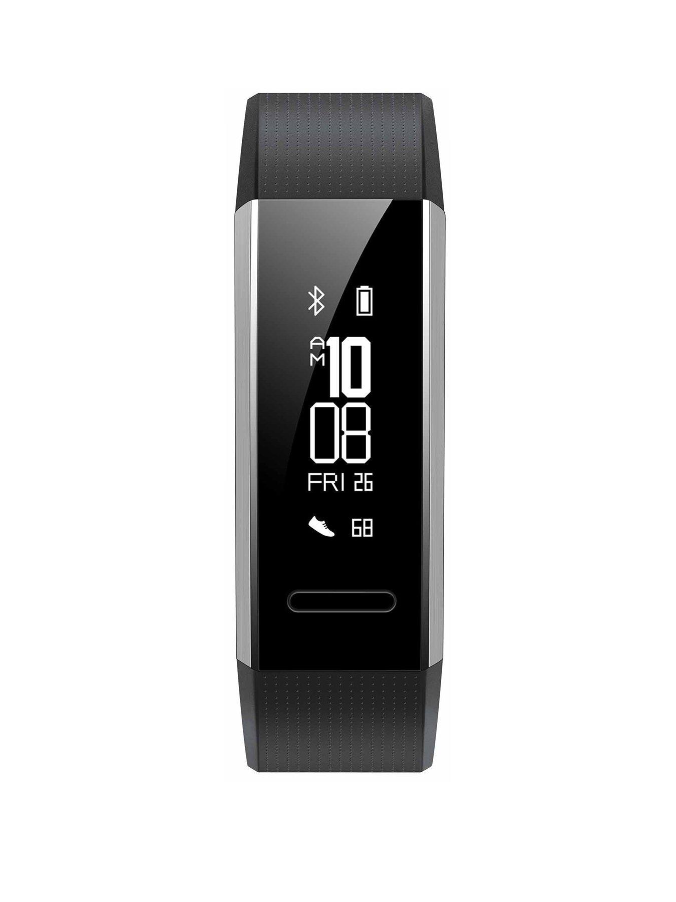Huawei Band 2 Pro Braccialetto per rilevamento di attività Nero PMOLED